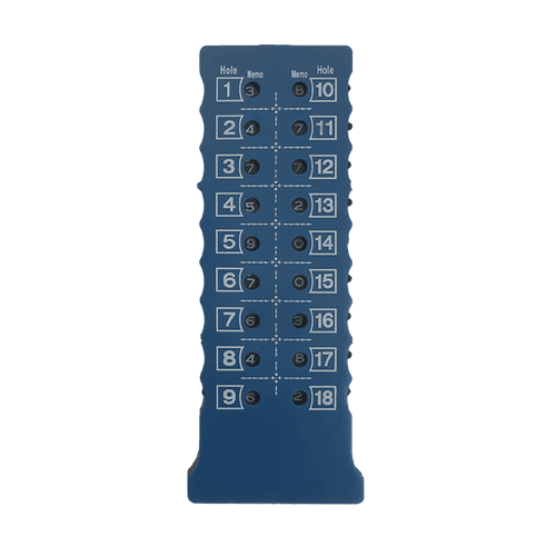 Golf Gear Scoreräknare 1